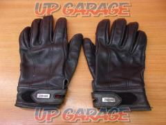 Size: S ZIN + BA Leather Gloves