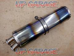 Unknown Manufacturer Stainless steel oval silencer 2 tail Grilled CB400SF Ver.R / S (NC31) / VTEC SPEC2 / 3 (NC39) CBR400RR