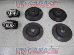 Subaru genuine (SUBARU) Genuine caliper (front only) + Disc rotor front and rear set