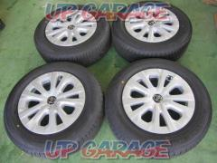Toyota genuine Fifty Prius Late + DUNLOP ENASAVE EC300 195 / 65-15 Four
