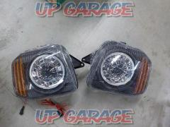 Unknown Manufacturer Lighting ring projector headlights