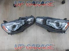 Mitsubishi genuine (MITSUBISHI) Lancer Evolution Evo II genuine headlight Right and left