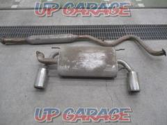 TOYOTA (Toyota) 86 Genuine muffler set