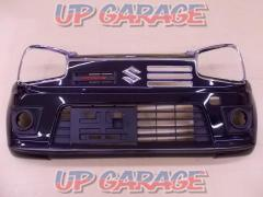 SUZUKI Alto Works genuine Front bumper + glasses garnish