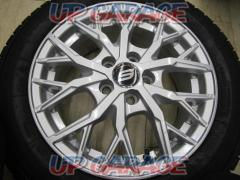 Campaign Special !! STRANGER Spoke wheels + TOYO (Toyo) OBSERVE GIZ Used wheel / new studless tire set