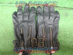 Free × Free (free free) Leather Gloves M size