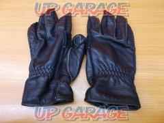 Size: L KUSHITANI (Kushitani) Leather Gloves