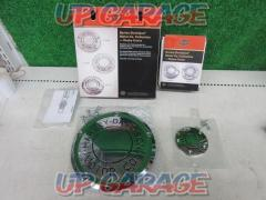 HarleyDavidson (Harley Davidson) Derby cover & timer cover set Harley Remove from the touring system