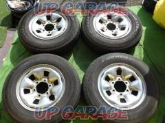Toyota original (TOYOTA) Hiace 100 system Plated steel wheel