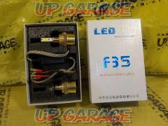 White / Yellow switchable! Unknown manufacturer F35 LED bulb