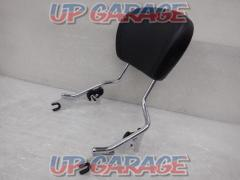 HARLEY DAVIDSON Detachable passenger sheather upright Chrome With backrest Touring FLHX / FLHT / FLTR / FLHR ('09 -'20)
