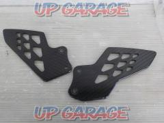 BMW genuine option Carbon heel plate S1000RR (12-14 years)