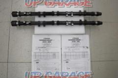 TRUST GReddy PERFORMANCE CAMSHAFT PRO IN / EX set (High rotation type camshaft for high tune!)