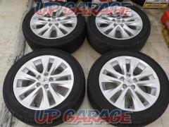 fitting free  Toyota original (TOYOTA) 20 Series Alphard / Velfire Early Type Original wheel + DUNLOP ENASAVE RV504