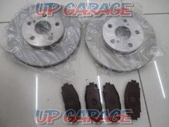 Unknown Manufacturer Front brake rotor & pad Set
