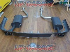 Wakeari F SPORT PART (TRD) Sports muffler & rear diffuser