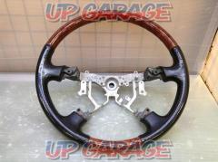 Toyota original (TOYOTA) Wood combination steering