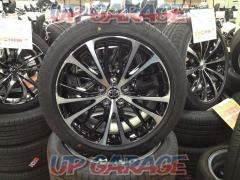 Toyota original (TOYOTA) 70 system Camry late WS leather package wheel + BRIDGESTONE (Bridgestone) TURANZA T005A