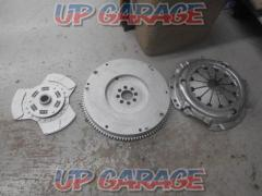 Clutch cover - + Disk + Toyota AE86 Caro-La Levin late genuine flywheel