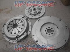 Clutch cover - + Toyota AE86 Caro-La Levin late genuine flywheel + Disk