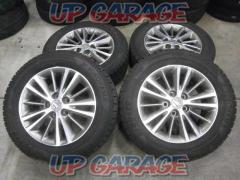 Toyota original (TOYOTA) Crown genuine wheel + YOKOHAMA iceGUARD ig50PLUS 4 pieces set
