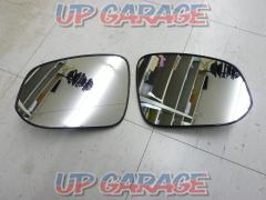 Toyota 80 series Voxy Genuine door mirror lens Right and left