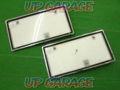 CO., LTD Kioritz Corporation LED character light type lighting fixtures Backlit license plate