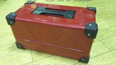 KTC Double Case Metal Case Tool Box Red Unused