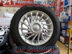 Toyota original (TOYOTA) bB previous term original wheel + DUNLOP (Dunlop) WINTER MAXX WM01