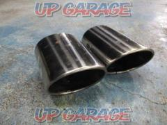 TOYOTA (Toyota) 18 series Crown Genuine muffler cutter 2 split