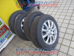 Sabae warehouse weds (Weds) JOKER (Joker) Silver spoke + TOYO winter TRANPATH MK4α + TOYO winter TRANPATH