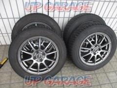Sabae Warehouse A-TECH SCHNEIDER (Schneider) Gunmetal spokes + YOKOHAMA (Yokohama) ice GUARD iG50PLUS 4/4