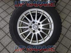 Unknown Manufacturer Silver 15-spoke + YOKOHAMA (Yokohama) ice GUARD iG60 + YOKOHAMA (Yokohama) ice GUARD iG60 4/4