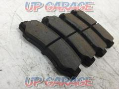 Made by DIXCEL Rear Brake pad Right and left AE86