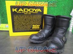 KADOYA (Kadoya) BLACKANKLE Leather boots Size 26.5cm