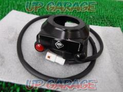 9DUCABIKE Switch integrated throttle holder