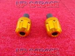 Bar Ends Unknown Manufacturer Color: orange metallic Diameter: 17mm or more