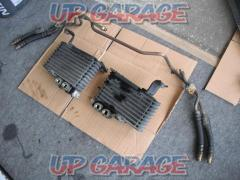 Mazda RX-7 / FD3S genuine Set of 2 oil coolers and oil hoses
