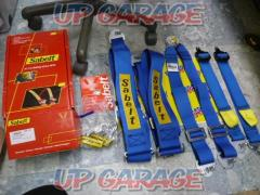 Sabelt (Sabelto) SALOON-S 632DN blue (Saloon car harness) Shoulder 3 inches / Waist 2 inches / Crotch 2 inches CCS632SBDN