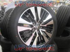 New car removed goods  Toyota genuine (TOYOTA) 30 series Alphard / Velfire late genuine Cutting bright aluminum wheels + TOYO (Toyo) TRANPATH R30