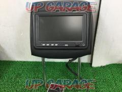 CAROM 7 inch headrest monitor one side only