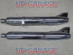 Unknown Manufacturer Fish tail muffler 2in T05250