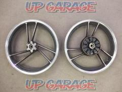 SUZUKI (Suzuki) GSX250E (Goki) original wheel Set before and after