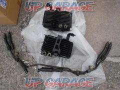 Mazda FD3S RX-7 5 type genuine twin oil cooler