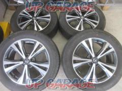 RX2005-3371S Nissan original (NISSAN) T32 X-TRAIL Late original wheel + DUNLOP GRANDTREK 4 pieces set