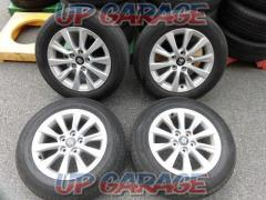 Toyota original (TOYOTA) Crown ARS 220 16 inches aluminum wheels + DUNLOP (Dunlop) ENASAVE EC300 +