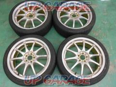 RAYS (Rays) VOLK RACING (Volk Racing) CE28N 10SPOKE DESIGN + PINSO PS91