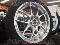 ☆店頭にて試着無料☆ BBS RF(RF507) + GOODYEAR EfficientGrip ECO EG-01 + BRIDGESTONE NEXTRY