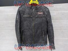 HUALEI Leather jacket Size: L