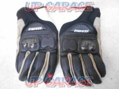 Size: M DAINESE (Dainese) Short Leather Gloves